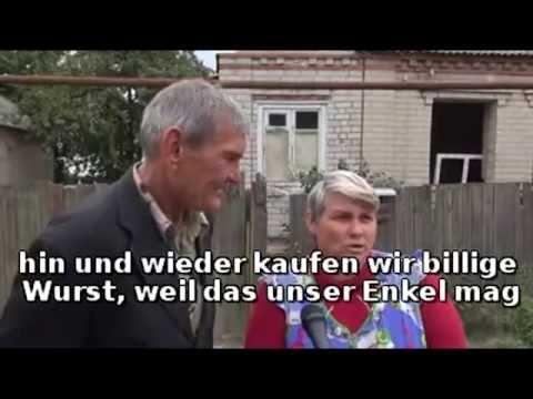 Christian Wehrschütz in Slaviansk: Bankrotte Ukraine und das Flüchtlingselend
