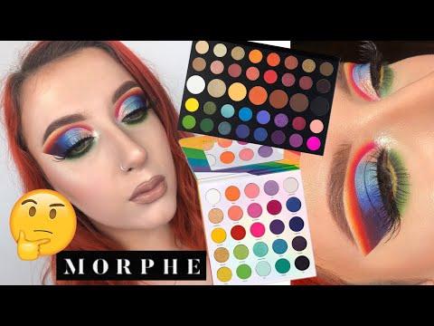 NEW Morphe 25L Pride Palette VS James Charles Palette  | Alice King