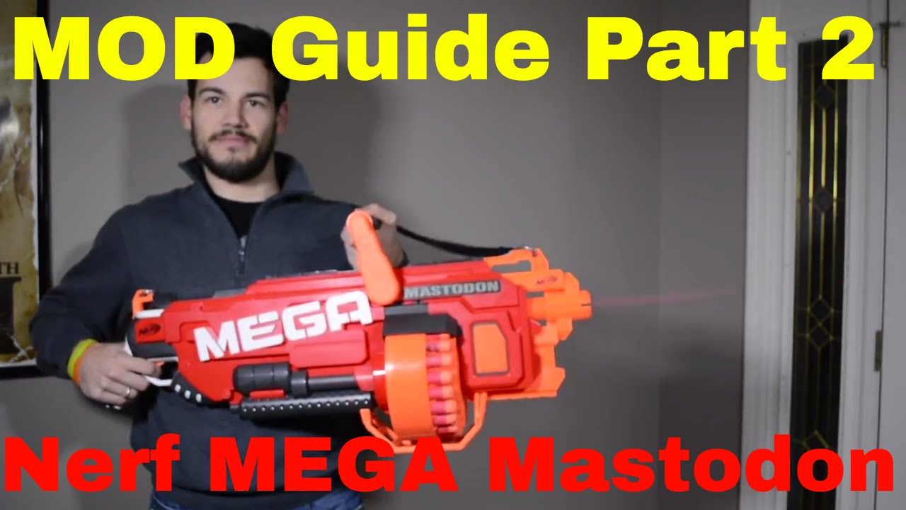 small resolution of  mod guide nerf mega mastodon part 2 wiring diagram flywheel removal motor replacement youtube