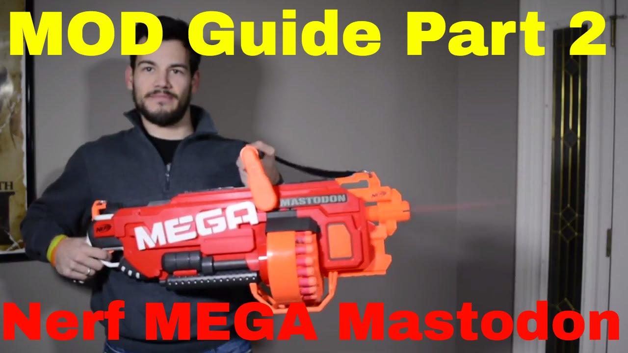 hight resolution of  mod guide nerf mega mastodon part 2 wiring diagram flywheel removal motor replacement youtube