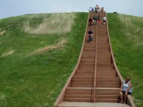 climbing monks mound