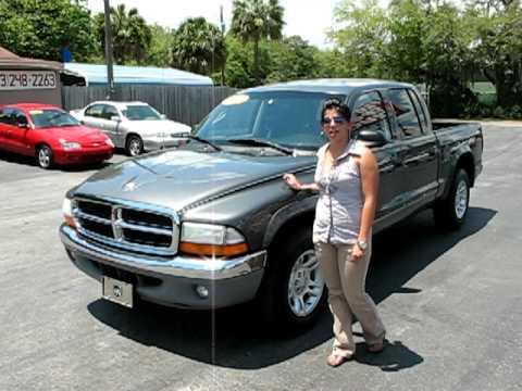 04 Dakota Crew Cab SLT for sale by Florida Sport Trucks. Tampa, Florida