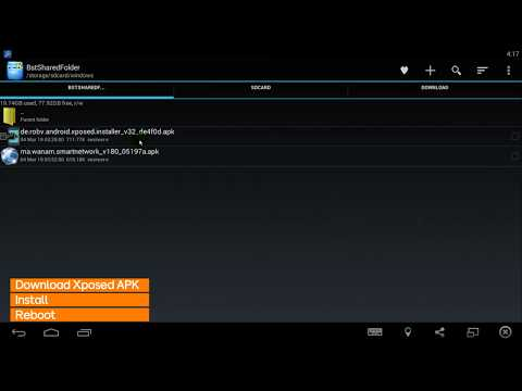 Install Xposed and module Android APK step by step - YouTube