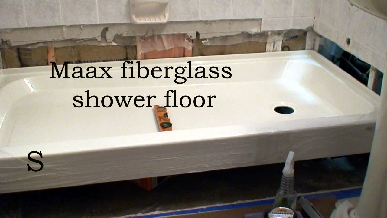 bath tub to shower conversion part two youtube