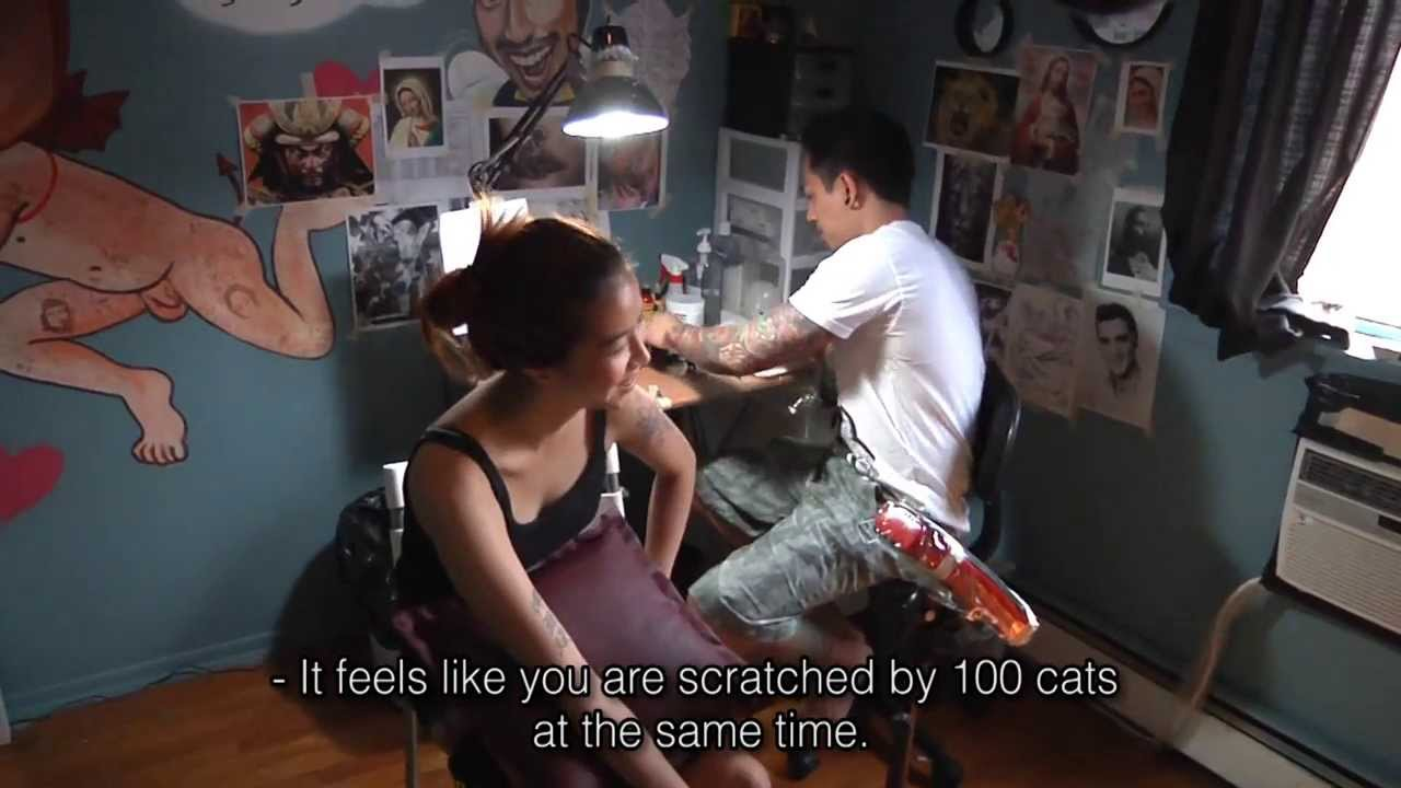 Thai Tattoos Artist in New York City - YouTube