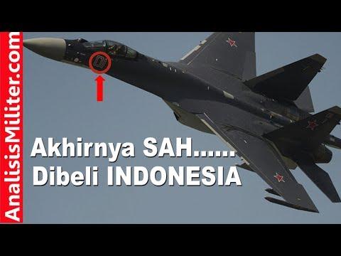 Akhirnya, Indonesia SAH Beli Pesawat Tempur Sukhoi SU-35S Rusia