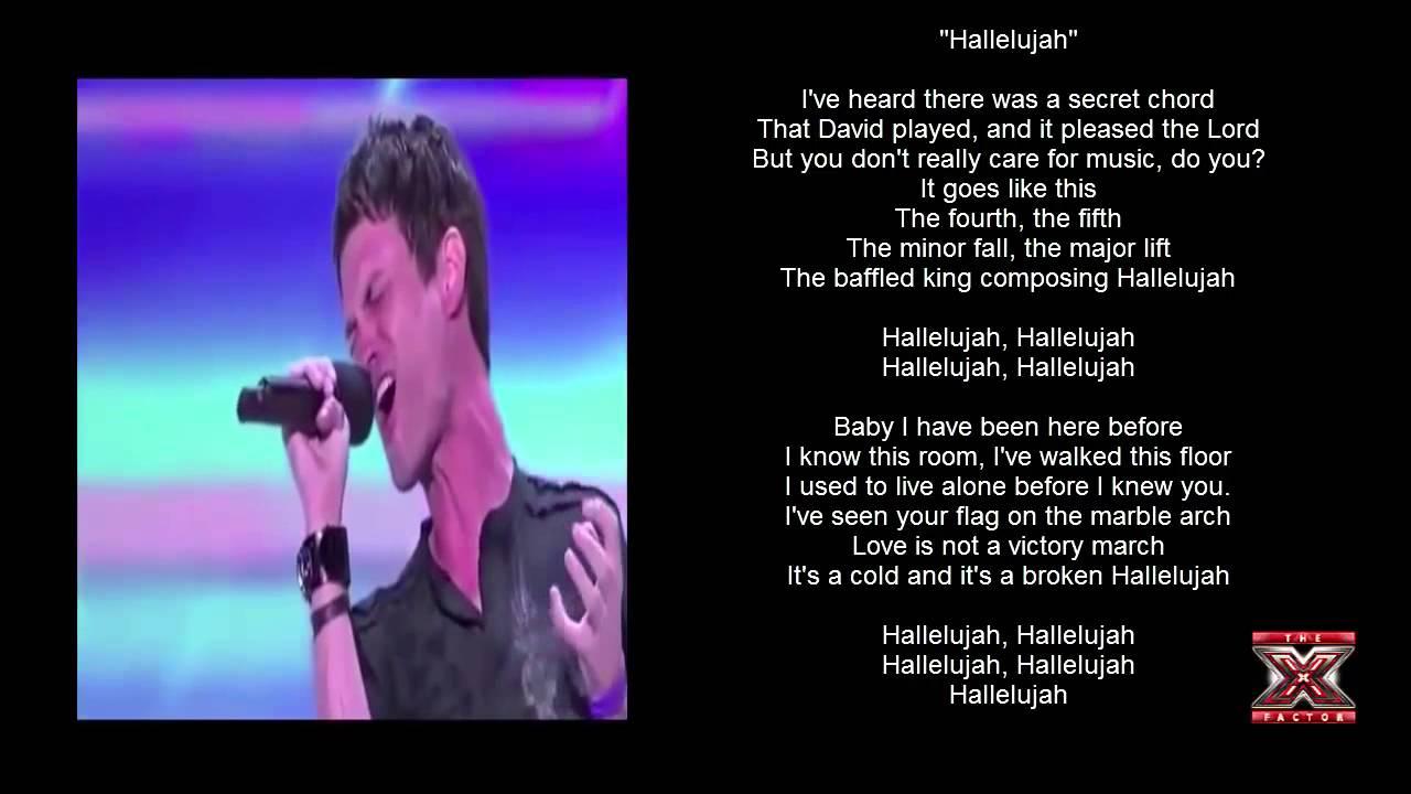Jeff gutt sings a brilliant rendition of hallelujah youtube jeff gutt sings a brilliant rendition of hallelujah hexwebz Image collections