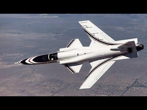 Самолеты со странными крыльями. Крылья обратной стреловидности