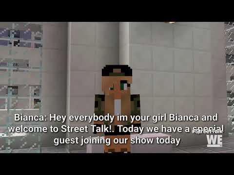 Olivia Carey from Growing Up Hip Hop | Street Talk | WE tv Minecraft