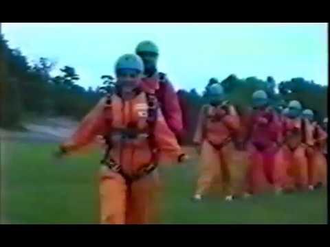 Bad Lippspringe 1995- Basic Parachuting course