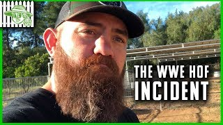 Travis Browne Talks About the WWE Hall of Fame Incident