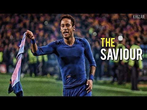 5 Times Neymar Jr Saved Barcelona Alone   HD