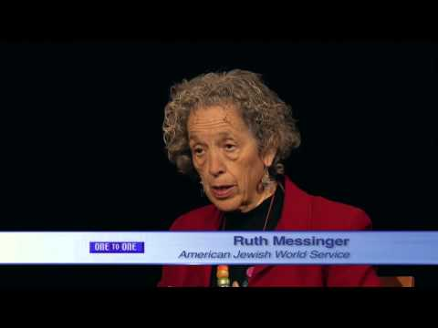 One to One - Ruth Messinger: American Jewish World Service ...