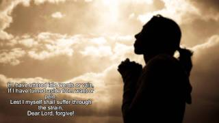 An Evening Prayer - Christian a capella Hymn with Lyrics