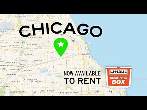 Plastic Moving Box Rentals | Chicago, IL | U-Haul Ready-To-Go Box