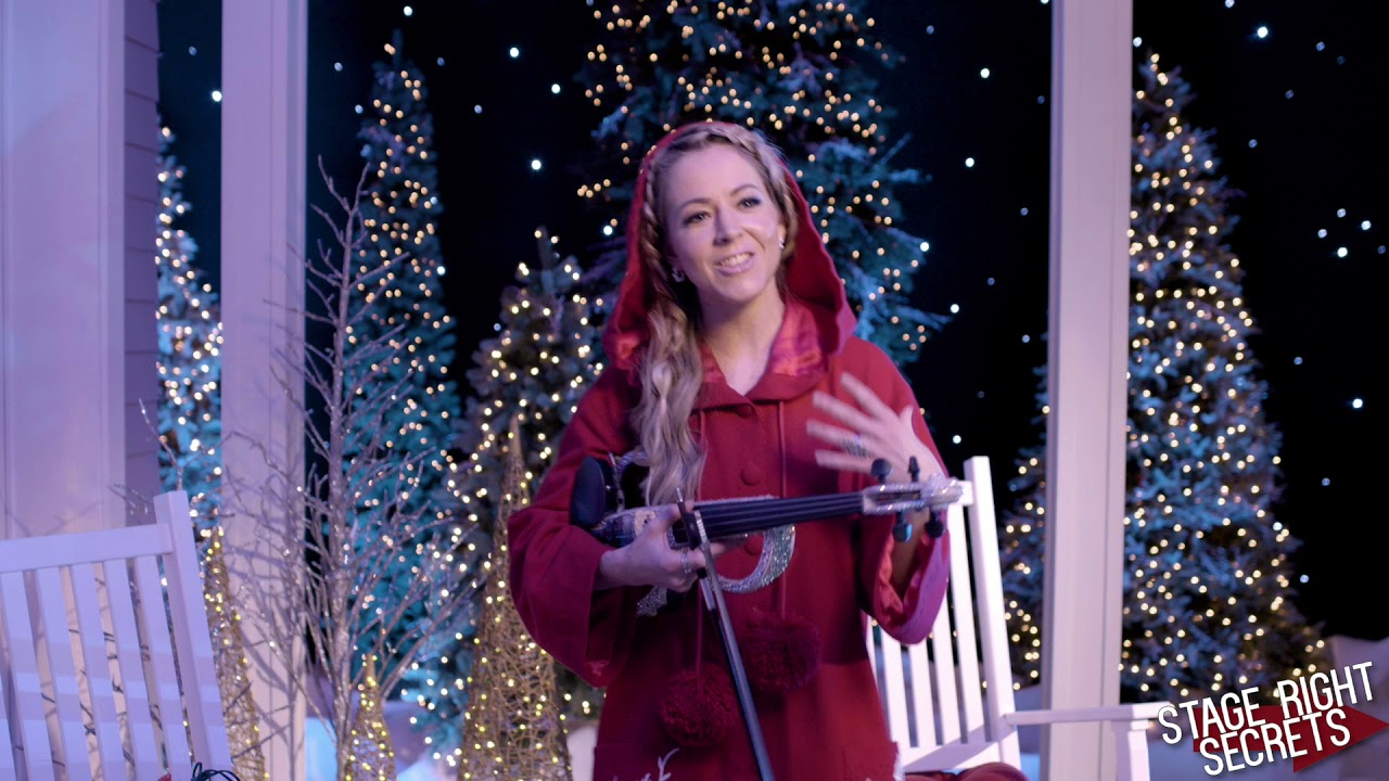 Lindsey Stirling Interview 2020 CMA Country Christmas With Darius Rucker