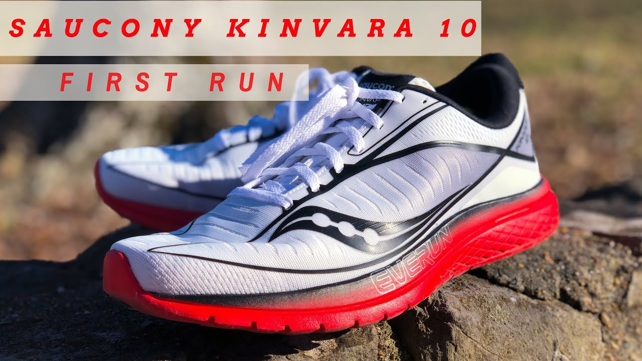17ef6b9db037 Saucony Kinvara 10 First Run - YouTube