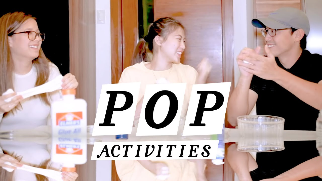 Pop Activities Making Slime with Cathy Gonzaga and Mikee  | PENELOPE POP