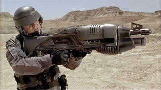 ТОП 10 Смертоносное Оружие Будущего: Стрелы Бога, Рельсотрон, экзоскелеты, лазеры...