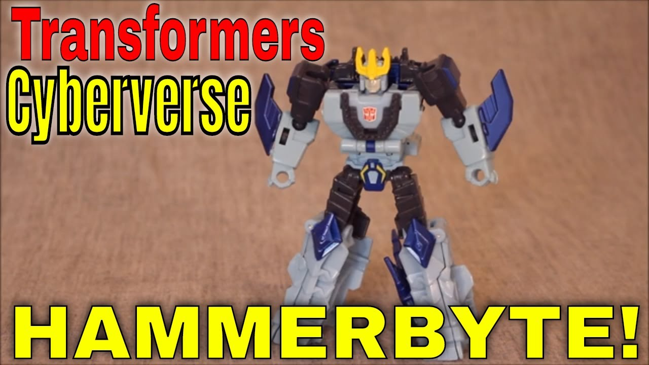 Quite a Byte: Cyberverse Hammerbyte! Review by GotBot