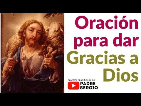 Oracion de hoy Gracias Padre Dios por mi vida