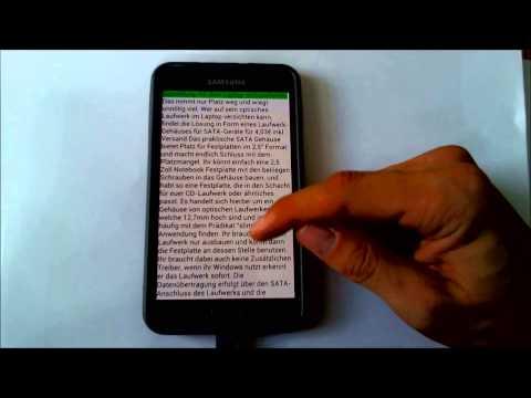 Vorleser - Text zu Sprache App