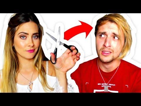 Mi novia me corta el pelo ✂ SIN TENER NI IDEA DE PELUQUERÍA