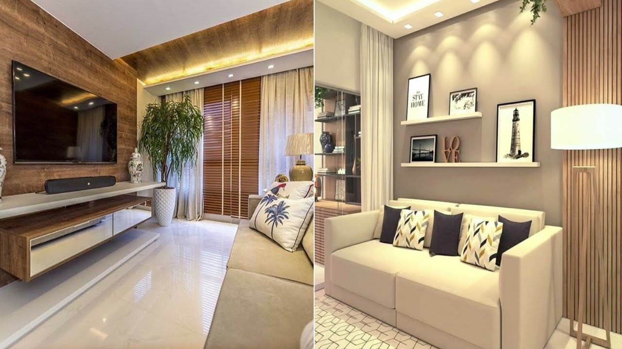 100 Modern living room design - Home wall decorating ideas ...