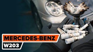 Монтаж на Запалителна свещ MERCEDES-BENZ C-CLASS (W203): безплатно видео