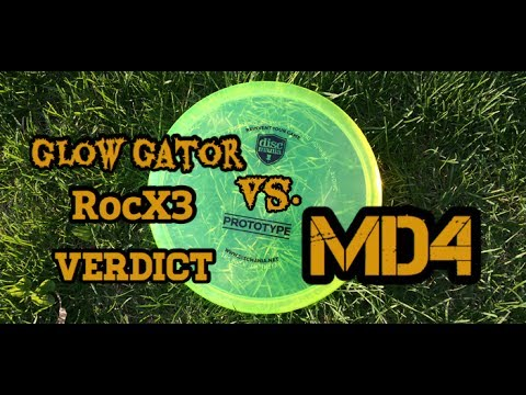 Discmania MD4 - Is It A Gator or RocX3? (2017)