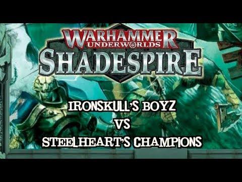 Warhammer Underworlds: Shadespire EP 03 Ironskull's Boyz vs. Steelheart's Champions