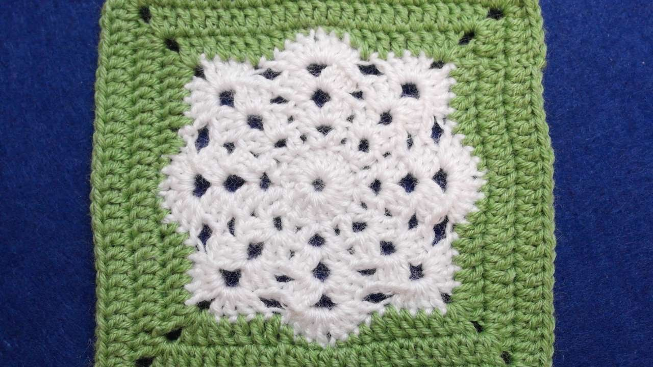 How to make a crocheted snowflake square diy crafts tutorial how to make a crocheted snowflake square diy crafts tutorial guidecentral youtube bankloansurffo Image collections