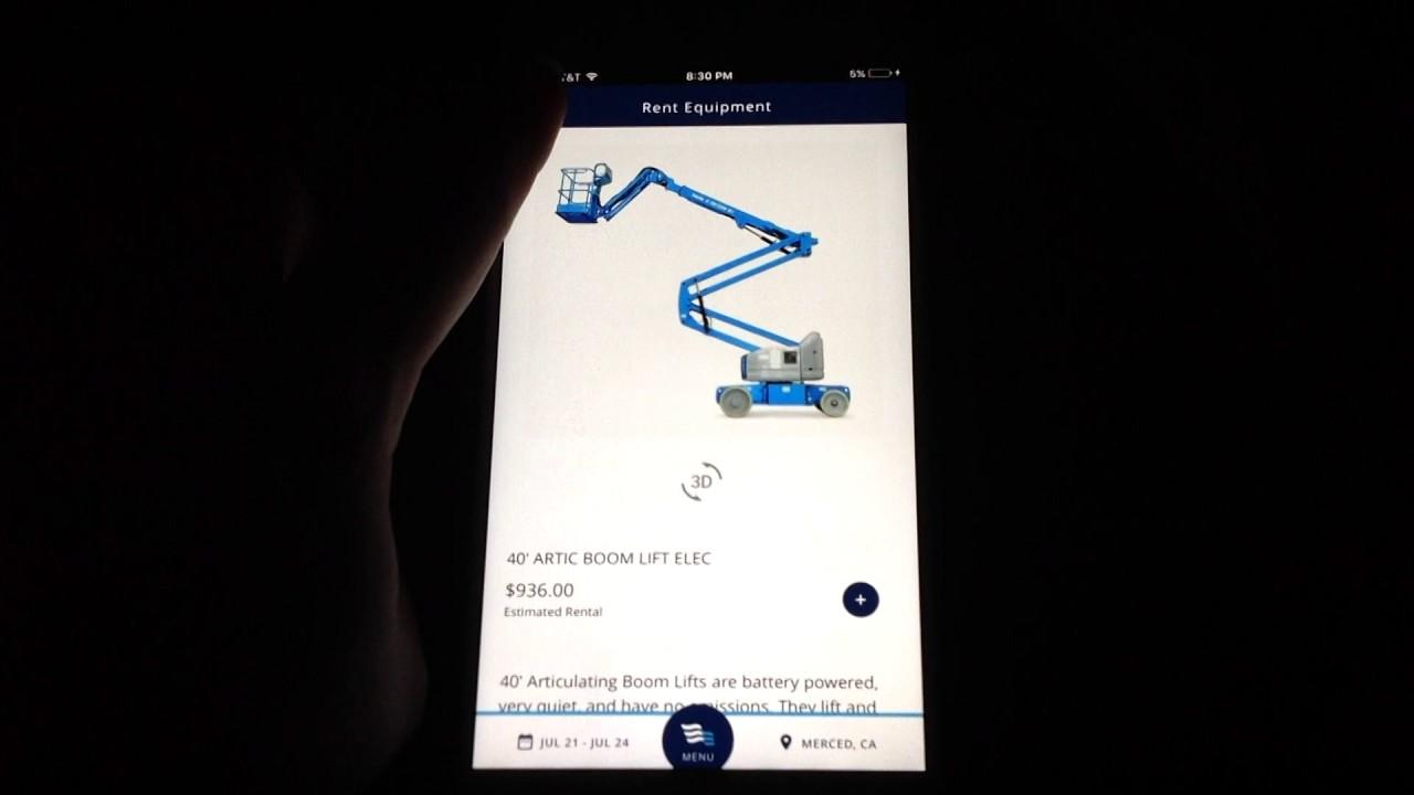 BlueLine Rental iPhone App Video Review