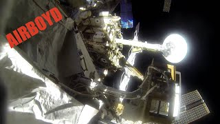 Terry Virts Spacewalk GoPro (EVA 31)