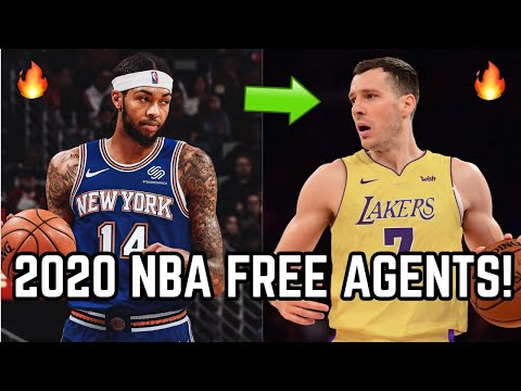 Predicting Where The TOP 2020 NBA Free Agents Sign! | Goran Dragic To Los Angeles Lakers With LeBron