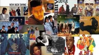 DJ Rick Geez - New Jack Swing Flashback Mix (Part 1 of 3)