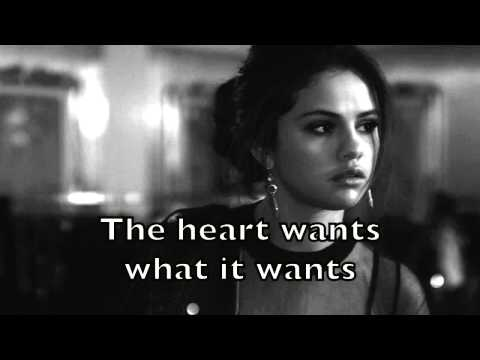 The what wants heart download mp3 it wants selena