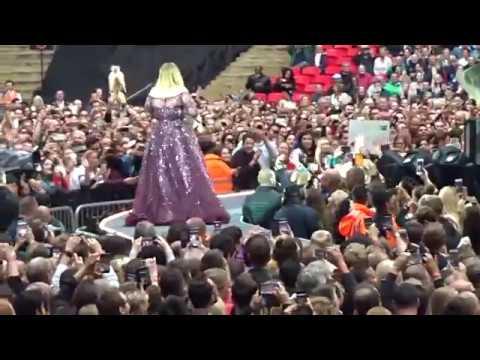 Adele-Talking before I'll Be Waiting Wembley Stadium