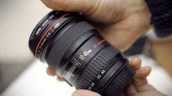 Canon 17-40mm f/4 USM 'L' lens review with samples (full frame and APS-C)