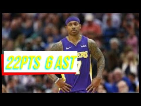 ´´I GOT MY POWER BACK´´Isaiah Thomas says in Lakers Debut / NBA