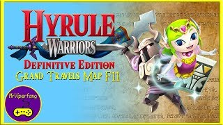Hyrule Warriors Switch Grand Travels Map F11 Unlocking Toon Zelda Youtube