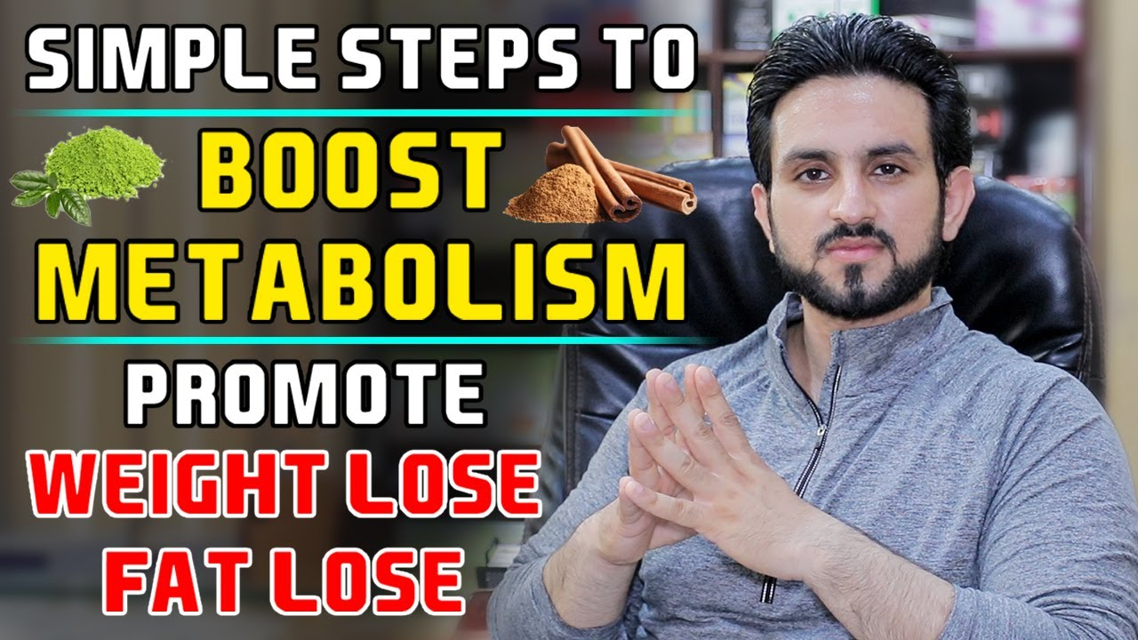 Slow Metabolism? How To Boost and Promote Fat Loss Weight Loss Fast Hindi/Urdu