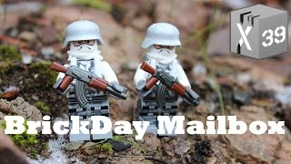 Brick Day Mailbox - Death Star, Lego Base Plates And Cmf's!