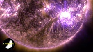 NASA (4K) Ultra-HD Earth And The Sun