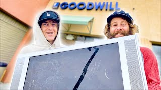 SKATE EVERYTHING WARS GOODWILL! | SKATE EVERYTHING WARS EP. 34