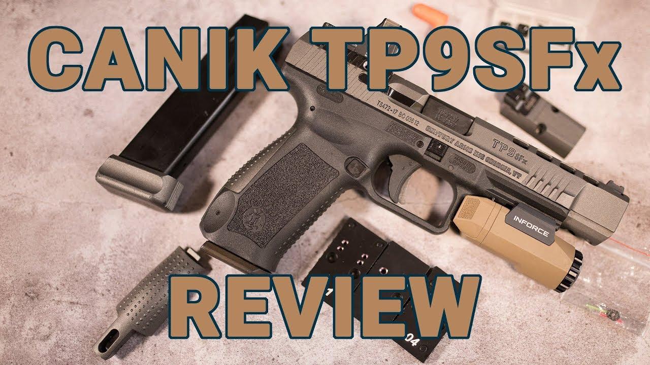 Gun Review: Canik TP9SFx - Small price, big performance
