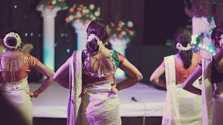 Surprise Dance for GROOM by BRIDE and Cousins (Soby+Ponnu)