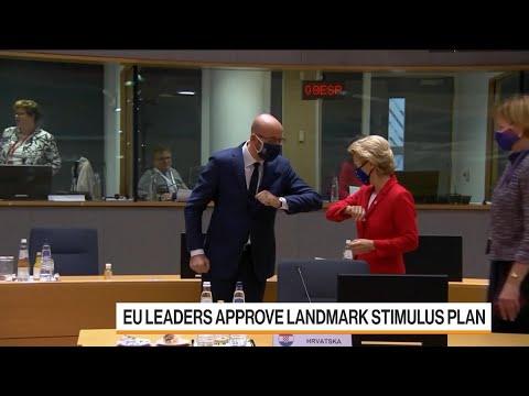 EU Leaders Approve Historic $2.2 Trillion Stimulus Plan