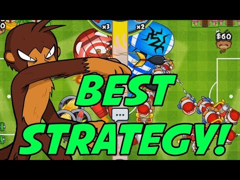 THE BEST STRATEGY In Bloons TD Battles!!