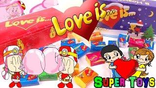 love is Gum Stickers Surprise funny unboxing/Жвачки Love is  с вкладышами